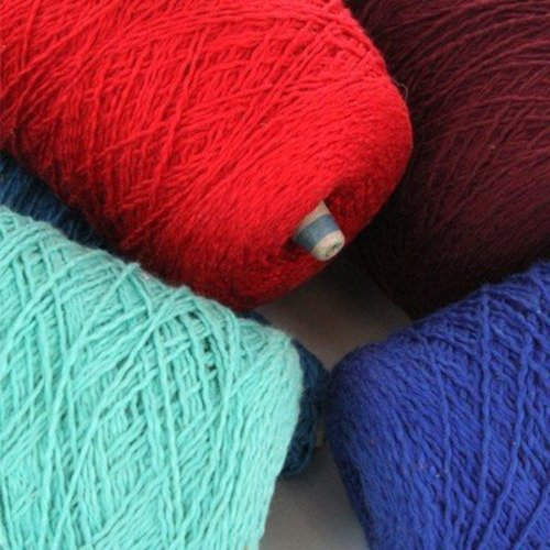 2.2 Softball Cotton Mill Ends - 10lb Pack Assorted Colors -  ()