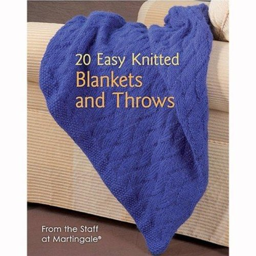 20 Easy Knitted Blankets and Throws -  ()