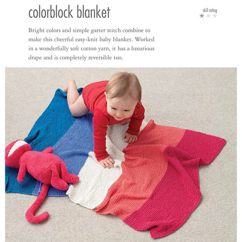 35 Knitted Baby Blankets -  ()