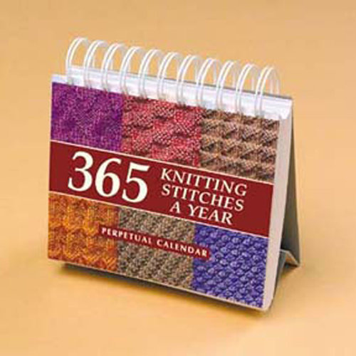 365 Knitting Stitches a Year Perpetual Calendar -  ()