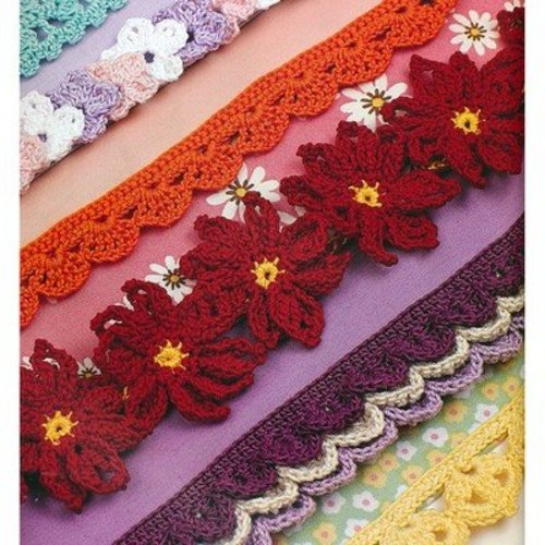 75 Exquisite Trims in Thread Crochet -  ()
