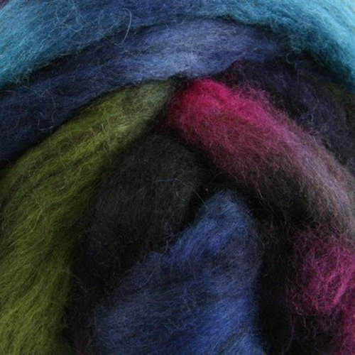 Abstract Fiber 2-Tone Blue Faced Leicester -  ()