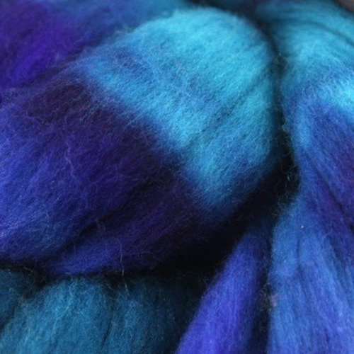 Abstract Fiber Blue Faced Leicester -  ()