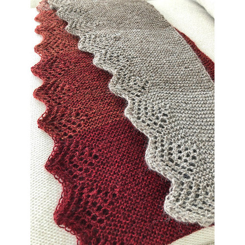 Adventure Du Jour Designs Ternary Shawl PDF -  ()