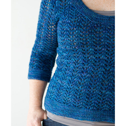 Amy Herzog Designs February Fitted Pullover (Free) -  ()