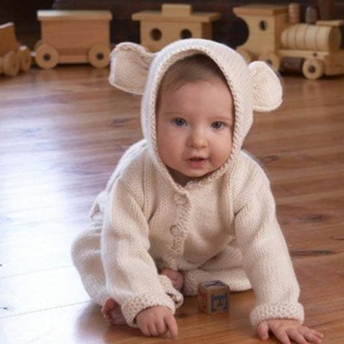 Appalachian Baby Design Lamb's Ear Cardigan Kit -  ()