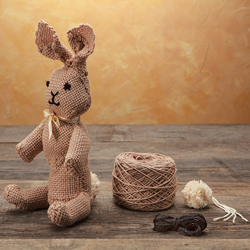 Appalachian Baby Design Pin Loom & Weaving Collection: Trixi the Bunny - Brown (BRWN)