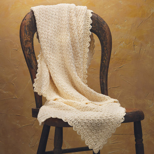 Appalachian Baby Design Pure and Simple Crochet Baby Blanket Kit - Natural (NAT)