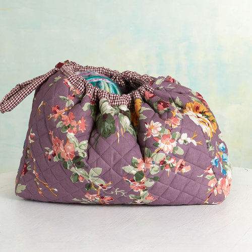 April Cornell Knitters Bag - Cottage Rose (COTT)