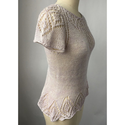 Artyarns Anne's Lace Tee PDF -  ()