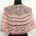 Artyarns Drama Queen Silk Shawl Kit - Pink (PINK)