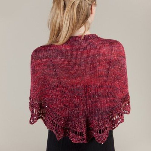 Artyarns E207 Golden Lace Shawl PDF -  ()