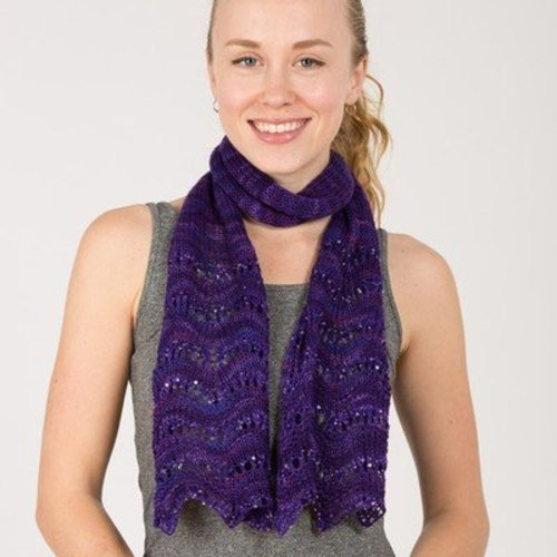 Artyarns Gemstone Scarf Kit - Amethyst (AMETHYST)