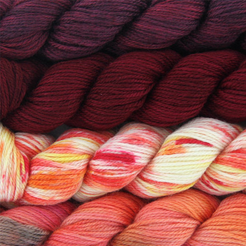 Artyarns Merino Cloud Gradients Kit in WEBS Exclusive Colors - Grand Canyon (GRANDCANYO)