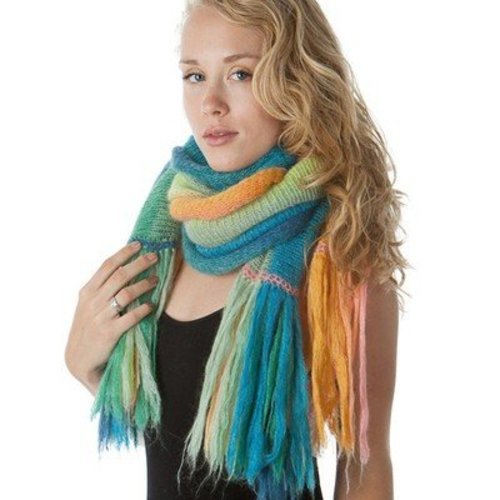 Artyarns Silk Mohair Blanket Shawl Kit - Blues (BLUES)