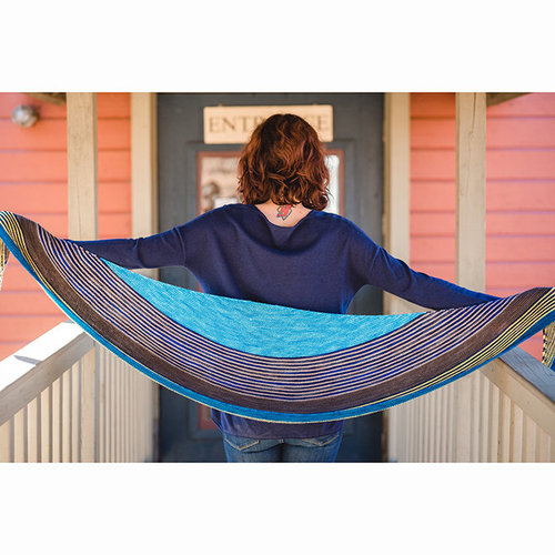 Baah Yarn Crescent Shawl Kit - Mavericks (MAVER)