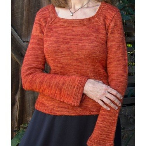 Basix 103 Killarney Top-Down Pullover PDF -  ()