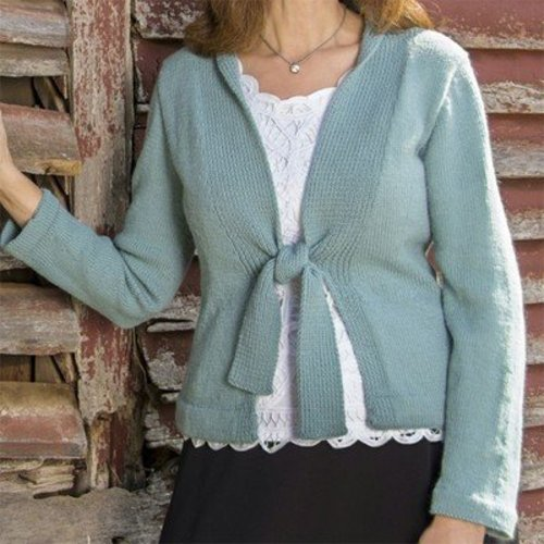 Basix 108 Bristol Top-Down Cardigan PDF -  ()