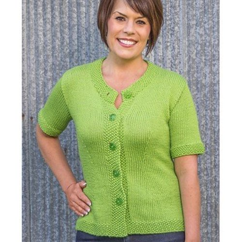 Basix 109 Charleston Top-Down Cardigan PDF -  ()