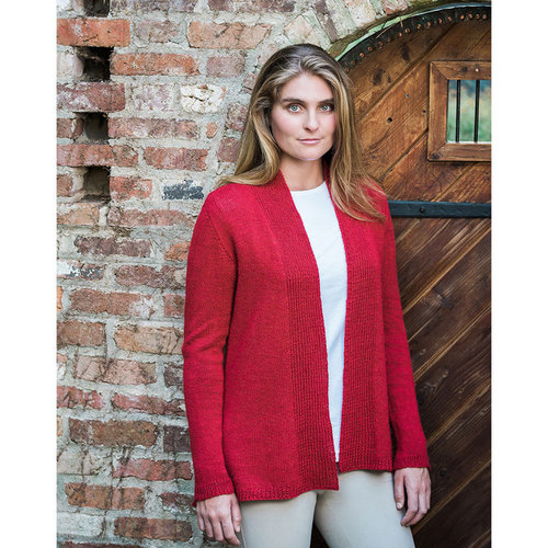 Basix 116 Lexington Top-Down Cardigan PDF -  ()