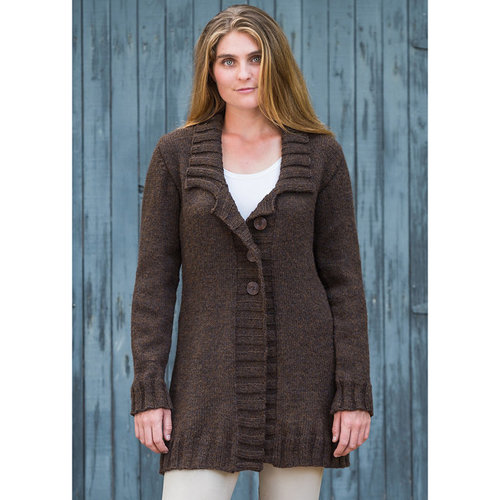 Basix 117 Belmont Top-Down Coat PDF -  ()