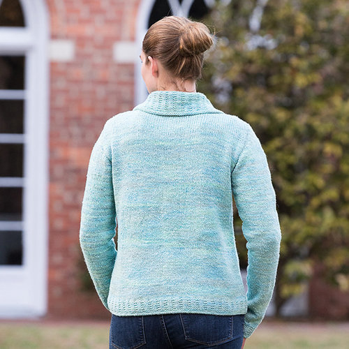 Basix 120 Anchorage Top-Down Cardigan PDF -  ()