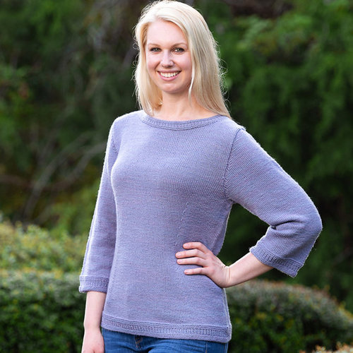 Basix 124 Vineland Top-Down Pullover PDF -  ()