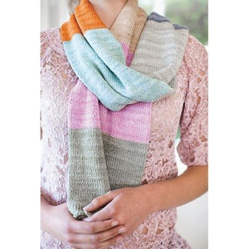 Be Sweet Blocks of Color Scarf (Free) -  ()