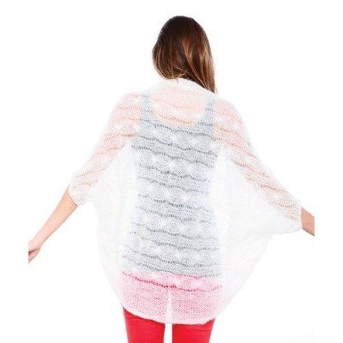 Be Sweet Cocoon Cable Shawl PDF -  ()