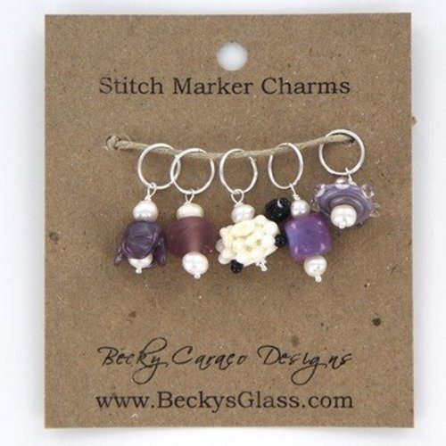 Becky Caraco Designs Stitch Markers -  ()