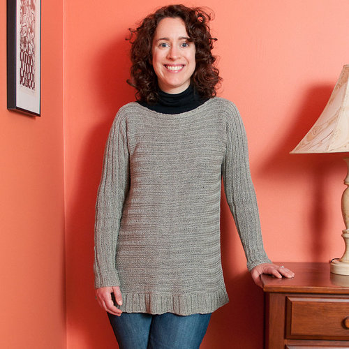 Black Bird Knits Alexander Street Sweater PDF -  ()
