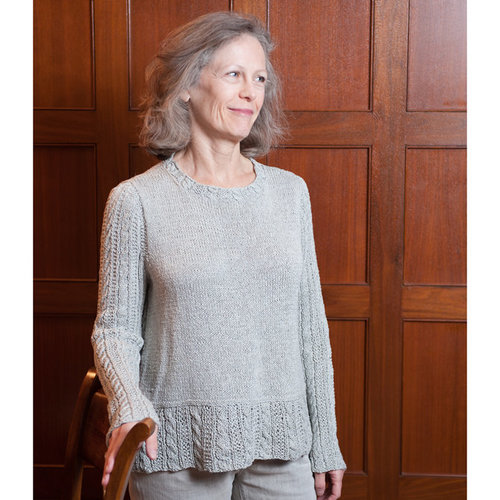 Black Bird Knits Sibley Place Sweater PDF -  ()