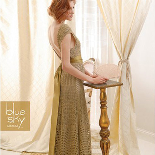 Blue Sky Fibers 1930s Inspired Gown -  ()