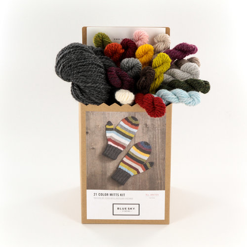 Blue Sky Fibers 21 Color Mitts Kit - Multi (MULT)