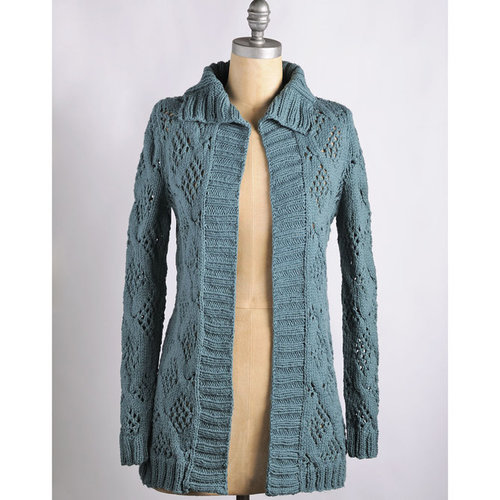 Blue Sky Fibers Afternoon Cardi - Download (AC3PDF)