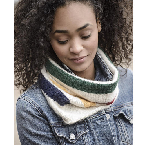 Blue Sky Fibers Albany Alpaca Cowl Kit - Model (01)