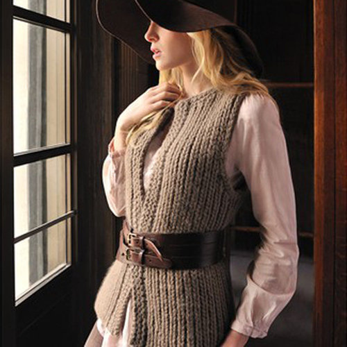 Blue Sky Fibers Autumn Vest PDF - Download (AVPDF)