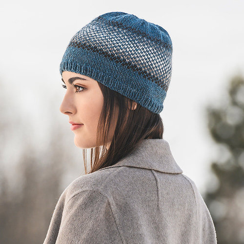 Blue Sky Fibers Beckenridge Bundle Hat PDF -  ()