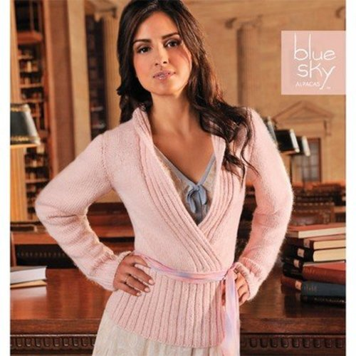 Blue Sky Fibers Bella Wrap Pullover -  ()