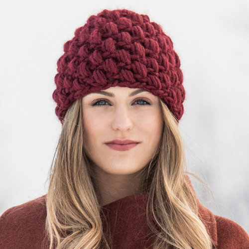 Blue Sky Fibers Berry Hat PDF -  ()
