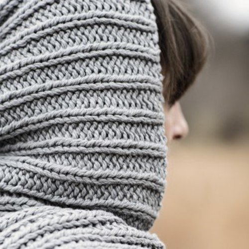 Blue Sky Fibers Breezy Point Hood Scarf PDF -  ()