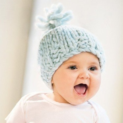 Blue Sky Fibers Bulky Baby Hat -  ()