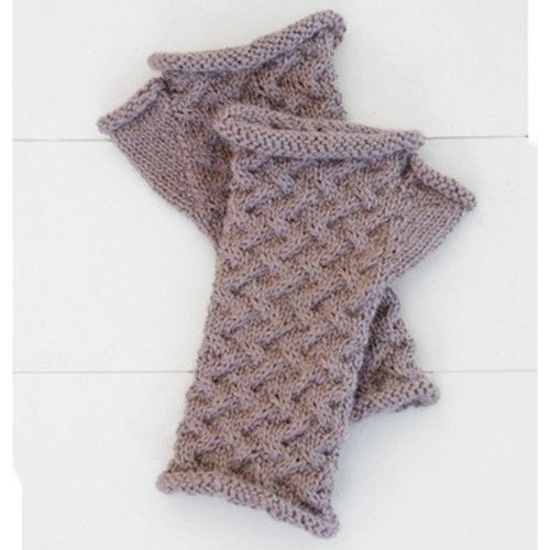 Blue Sky Fibers Cabled Mitts PDF -  ()