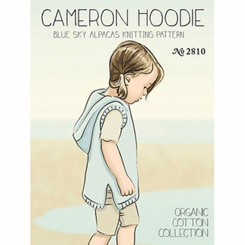 Blue Sky Fibers Cameron Hoodie - Download (2810PDF)