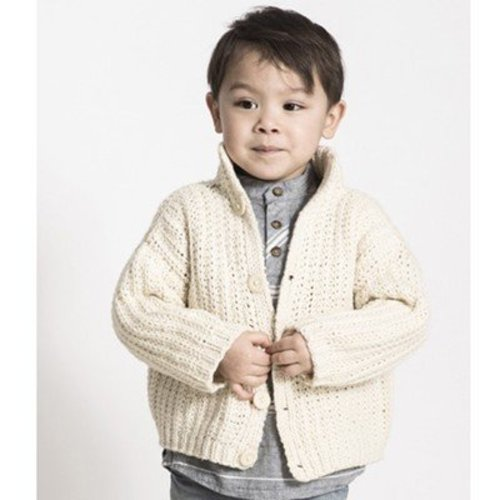 Blue Sky Fibers Cookies and Cream Cardi PDF -  ()