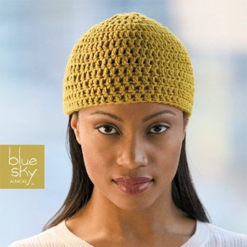 Blue Sky Fibers Crochet Beanie -  ()