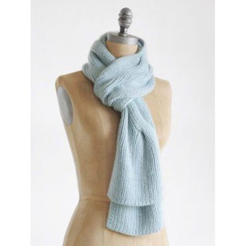 Blue Sky Fibers Dream Scarf PDF -  ()