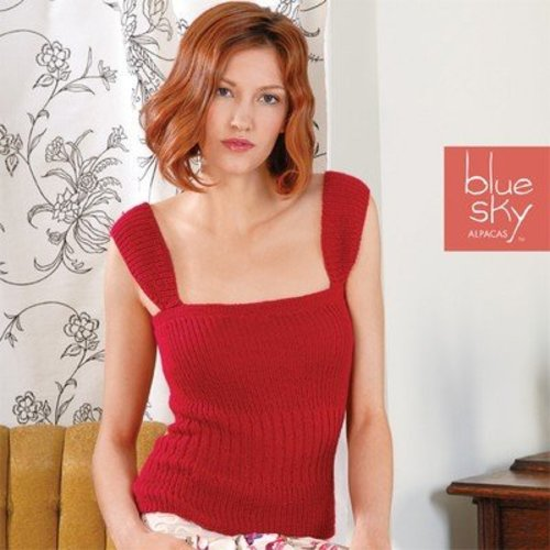 Blue Sky Fibers Fitted Evening Top -  ()