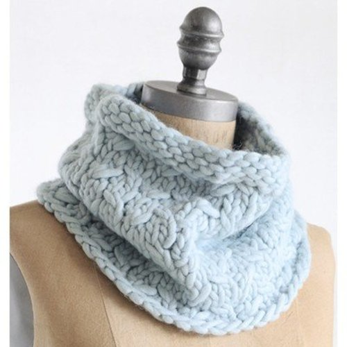 Blue Sky Fibers Frosty Cowl PDF -  ()
