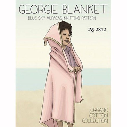 Blue Sky Fibers Georgie Blanket - Download (2812PDF)